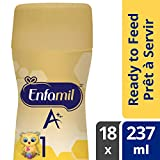 Enfamil A+ Baby Formula, ready to feed bottles, Nipple-Ready 237ml 18 count