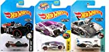 Hot Wheels Zamac Edition Car 2017 Dodge Charger Daytona & Zotic Art Car + Fright Cars Street Creeper Exclusive Zamac Editions 3 Pack