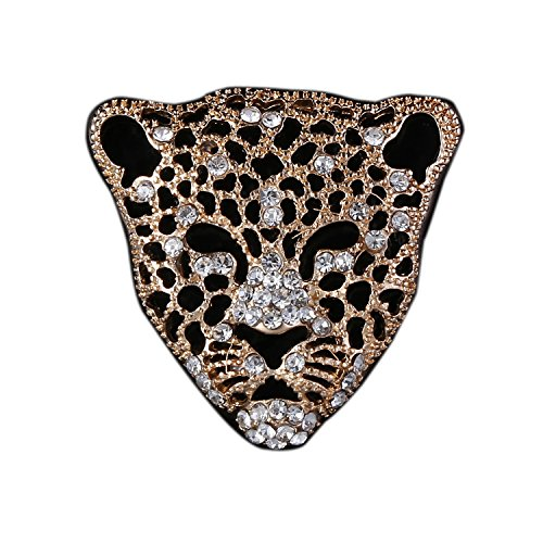 Leopard Brooch Pin Jewelry for Men Suits
