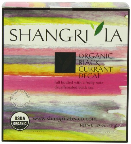 ny Organic Tea Sachet, Black Currant Decaf, 15 Count, 1.59 Oz ()