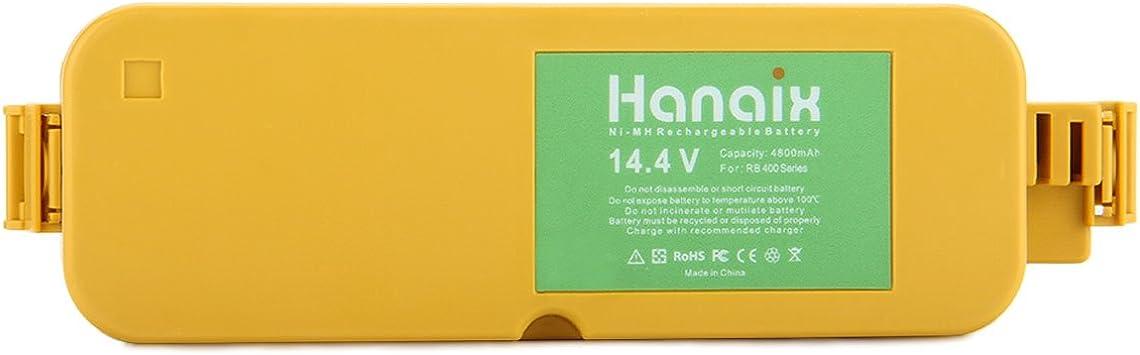 4230 Batteria 2000mAh 14.4V Ni-Mh per iRobot Roomba 4225 4260