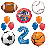 Best Ultimate Sports - The Ultimate Sports Theme 2nd Birthday Party Supplies Review