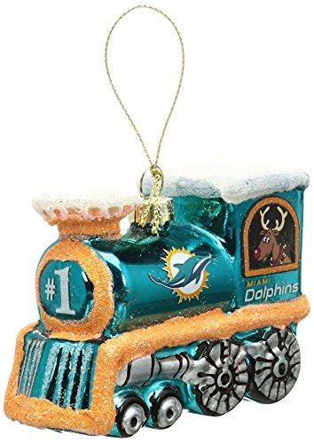 NFL Miami Dolphins Train Ornament