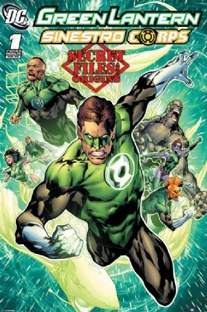Green Lantern Sinestro Corps Superhero Poster