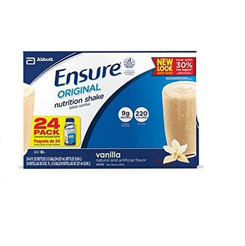 Ensure Homemade Vanilla Shake - 24/8 oz. - CASE PACK OF 2 by Ensure