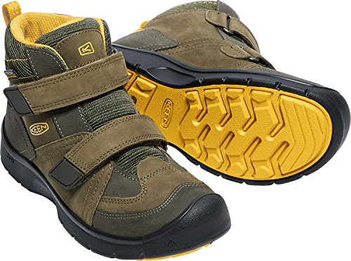 Pictures of KEEN Kids' Hikeport Mid Strap Wp Hiking Boot 7 B(M) US 3