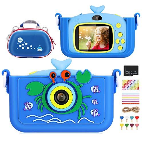 Cámara Digital para Niños Selfie Video Cámara Infantil 2.0
