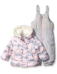 OshKosh baby-girls Baby Girls Camo Print Infant Girls Hw Snowsuit B2175s30