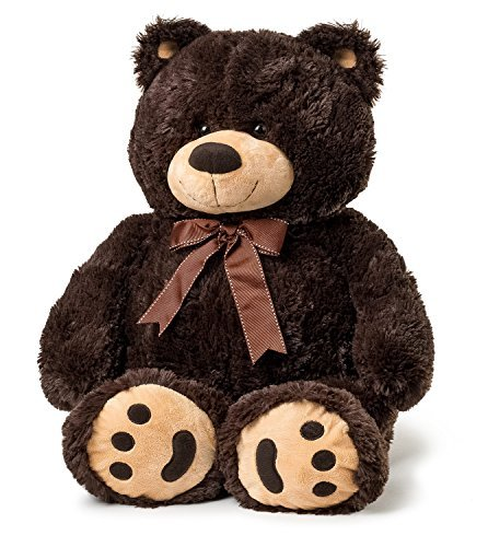 - JOON Big Teddy Bear - Dark Brown
