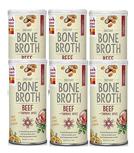 "The Honest Kitchen ""BONE BROTH"" Beef Bone Broth with Turmeri"