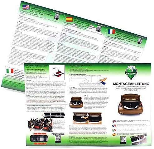 Ladekantenschutz Lackschutzfolie Finest Folia Inklusive Rakel Filz Passgenauer Zuschnitt Für Ihr Fahrzeug Schutz Kofferraum L022 Kombi Carbon Auto