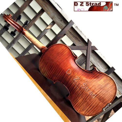 Maestro Old spruce Stradi 4/4 Full Size Violin D Z Strad Model 509 Powerful tone Antique Varnish by D Z Strad