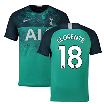 2018-2019 Tottenham Third Nike Football Soccer T-Shirt Camiseta (Fernando Llorente 18