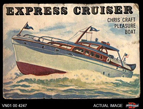1955 Topps Rails & Sails # 135 Express Cruiser (Card) Dean's Cards 1 - POOR 3393478