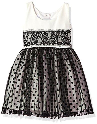 4t black and white dress - 2