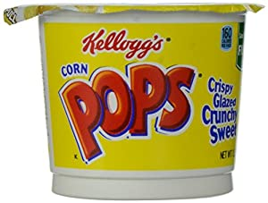 Kellogg's Corn Pops Cereal in A Cup, 1.5 Ounce (Pack of 12)