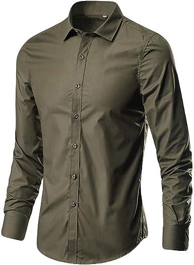 Sayla Camiseta para Hombre Verano Polo Camisas Casual Fitness ...