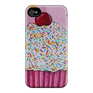 Faddish Phone Pink Cupcake Cases For Iphone 6 / Perfect Cases Covers