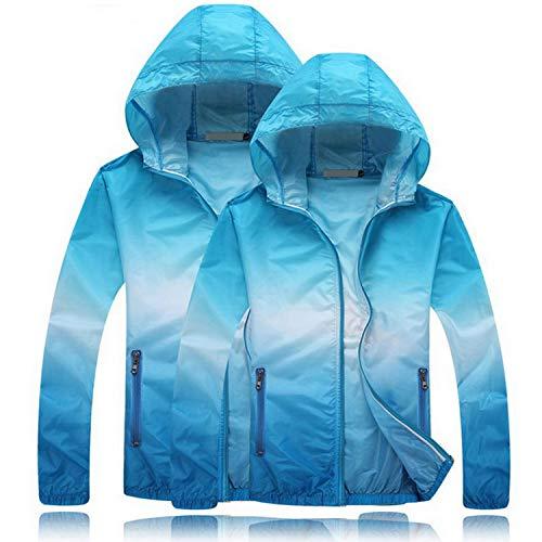 Size Plus Cappotto Sole Delle Donna Uomini Ultrasottili Blu Giacca Casual Traspirante Giacche Aw073 Da Giacca Degli Protezione Vento Donne A Di Amanti Estate rrdqX5xwT