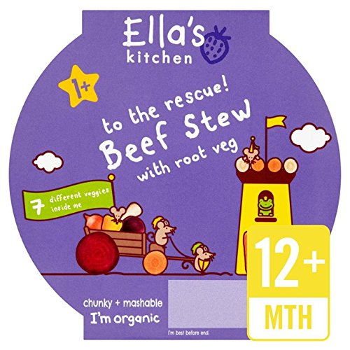 Ellas Küche Little Big Meal Beef Stew Stufe 4 200g Ella' s