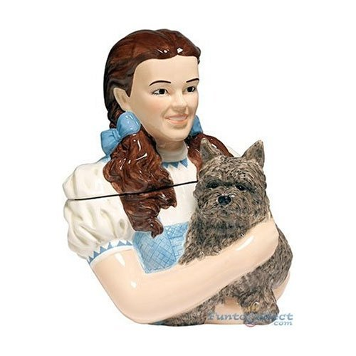 - Limited Edition Wizard of Oz Dorothy Bust Cookie Jar