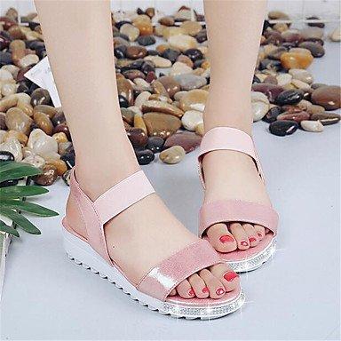 RTRY Casual Comfort US8 5 Spring EU39 CN40 Sneakers UK6 Women'S White Flat Pu Canvas Comfort 5 rwYHrpq