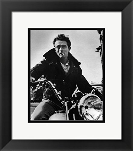 - FRAMES PRINT 11 X 14 James Dean On His Motorcycle