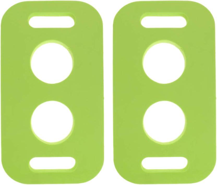 Sharplace 2 Unidades de Conector de Fideos Natación Accesorios de Juegos y Ejercicios para Adultos y Niños en Piscinas Churros Color Verde