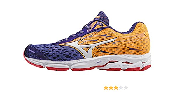 Mizuno Wave Catalyst 2 (w), Zapatillas de Running para Mujer, Morado (Liberty/White/Orange Pop), 36.5 EU: Amazon.es: Zapatos y complementos