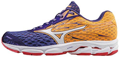 White Femme 2 Pop Mizuno Chaussures Liberty W Orange Wave Orange Running Catalyst de Compétition Violet w47ga7Hq