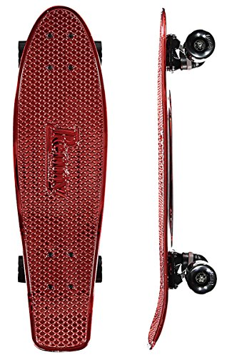 Penny Red Metallic Limited Edition 27″ Cruiser Nickel Complete Skateboard