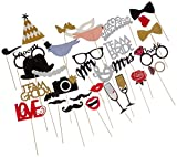 LAttLiv 756244666143 Photo Mask Props, 31 pcs in 1 Set