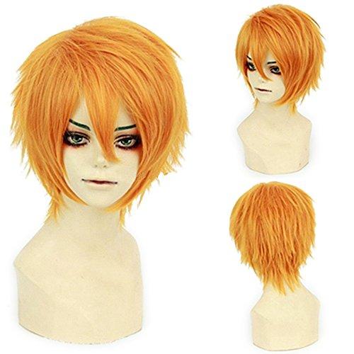 Short Fluffy Anime Wigs for Women Men 21