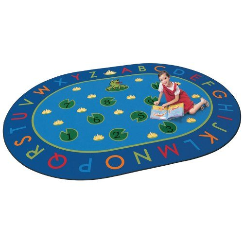 Hip Hop Play Carpet - Carpets for Kids 2495 Literacy Hip Hop to The Top Kids Rug Rug Size: 6'9
