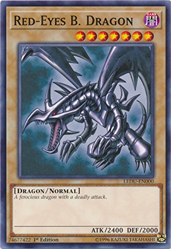 Red-Eyes B. Dragon - LEDU-EN000 - Common - 1st Edition - Legendary Duelists (1st Edition)