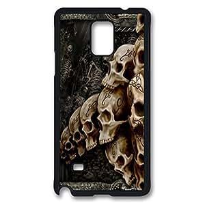 Descargar imagenes gratis santa muerte Custom Back Phone Case for Samsung Galaxy Note 4 PC Material Black -1210133 hjbrhga1544