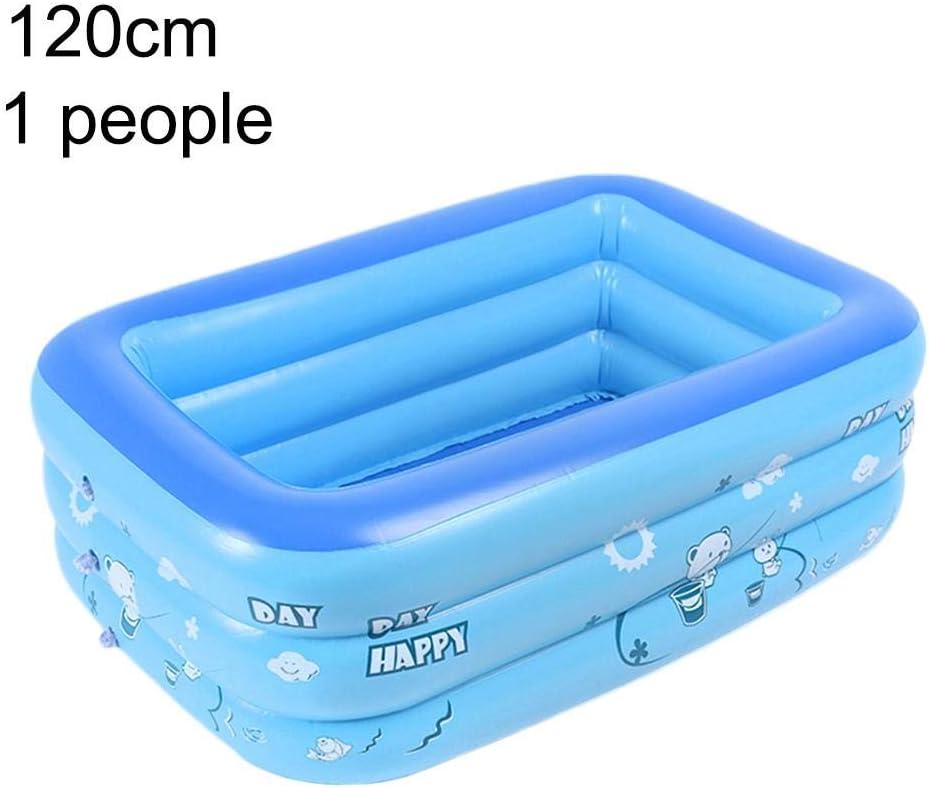 Piscina hinchable del centro de natación de más de 3 años, piscina de PVC de tamaño máximo 210 cm.