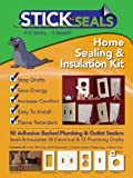 50 Pack Stick 'N' Seal Home Sealing Kit