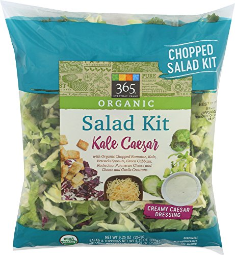 365 Everyday Value, Organic Salad Kit - Kale Caesar, 9.25 oz