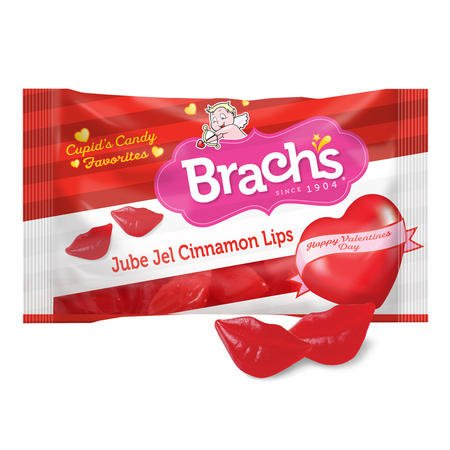 Brach's Jube Jel Cinnamon Lips, 10oz Bag