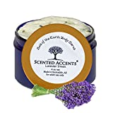 100% All Natural Lavender Essential Oil Body Scrub - Lavender Dream Lush Exfoliating Scrub, fresh made earth and ocean salt scrub for feet and skin surfaces