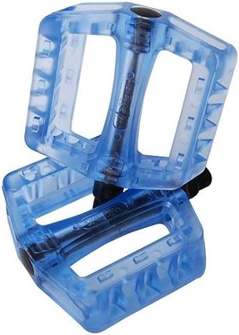 Wellgo Pedals - Pedales de BMX Wellgo Nylon B107 transp.Azul (par ...