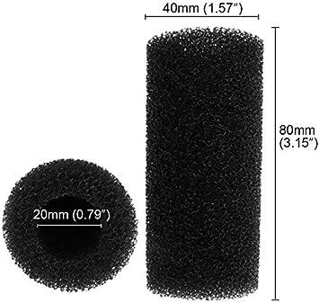 Cobella 4PCS Filter Intake Covers Aquarium Pre-Filter Foam Sponge for Fish Tank Small