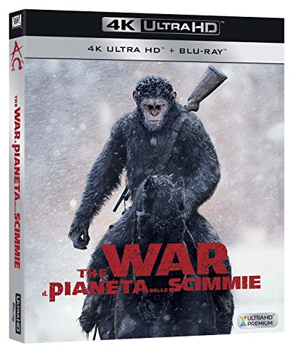 War for the Planet of the Apes [Blu-Ray] [Region Free] (English audio. English subtitles)