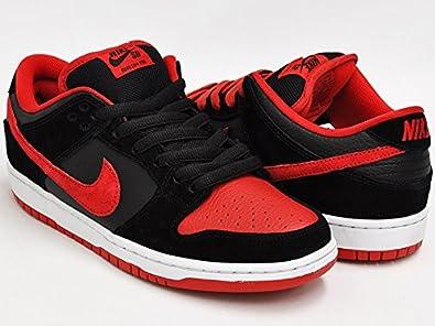 b241743aae45 ... official store amazon nike dunk low pro sb j pack black university red  black mens 12