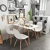 CozyCasa Kitchen Dining Table Modern Mid-Century