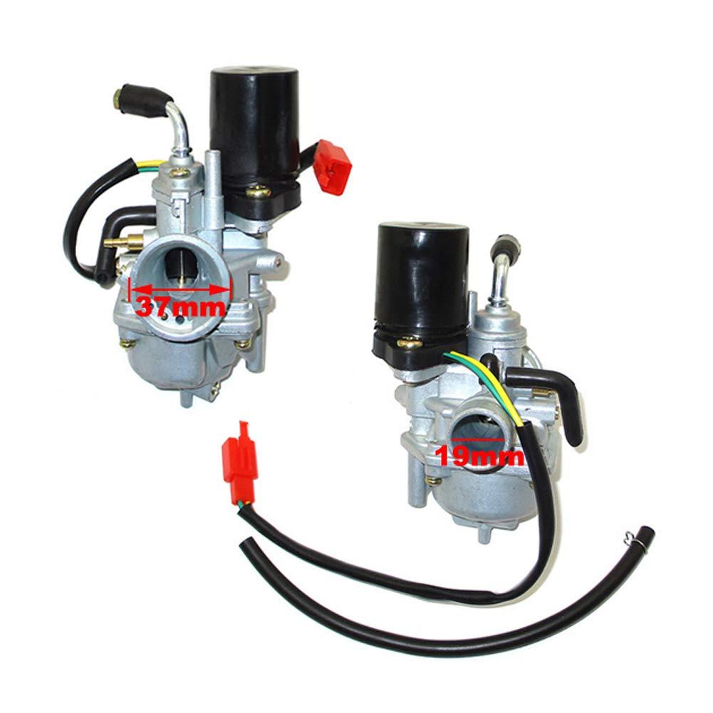 STONEDER carburador para 2 Tiempos Polaris Scrambler 50 E-Ton Viper 50 RXL50 Yamaha Jog50