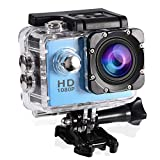 Fosa Action Camera Waterproof Outdoor Sports Cam with Waterproof Housing Case, Cycling Sports