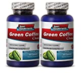 cleanse max ii - Green Coffee Beans Max - Green Coffee Cleanse 400mg - Pure Green Coffee Cleanse to Boost Immune System (2 Bottles 120 Capsules)