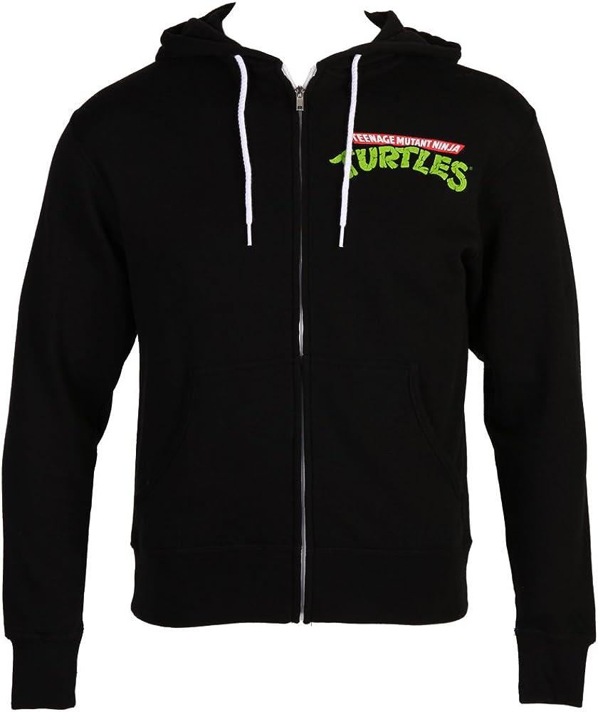 Teenage Mutant Ninja Turtles Logo Adult Hoodie